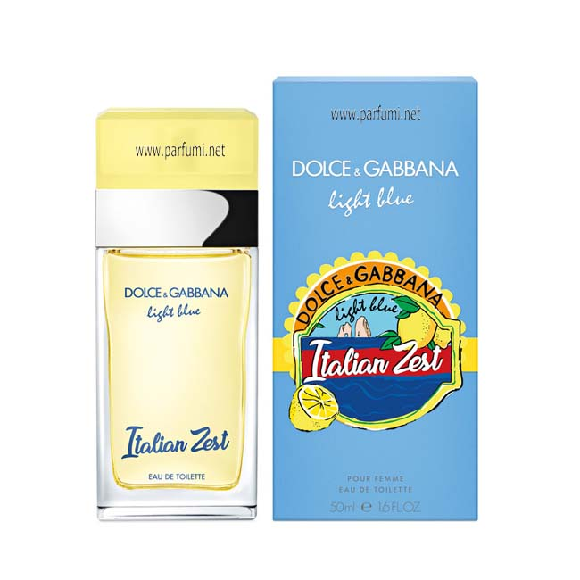 Dolce&Gabbana Light Blue Italian Zest EDT парфюм за жени - 100ml.