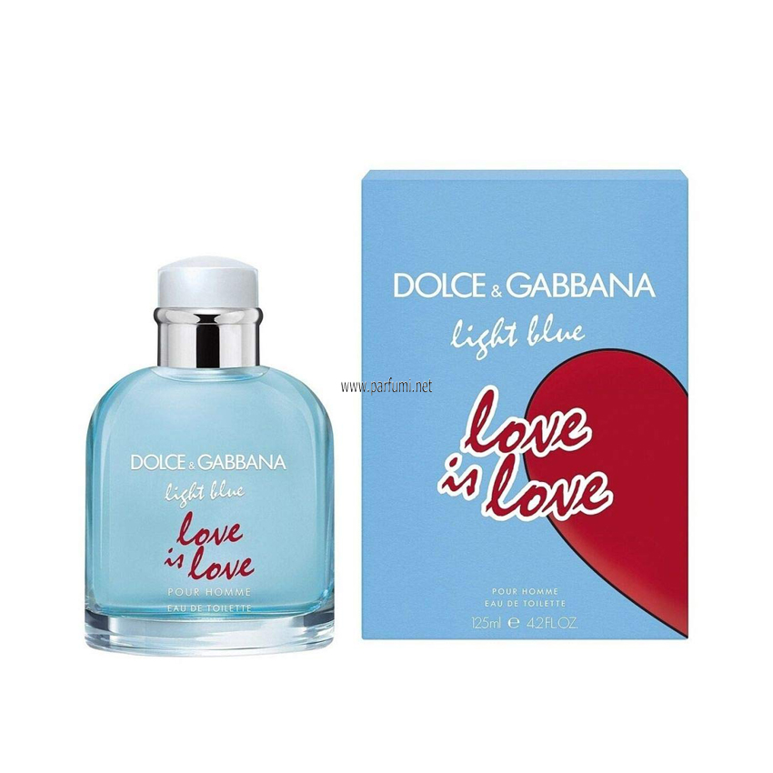 Dolce&Gabbana Light Blue Love is Love EDT за мъже - 125ml
