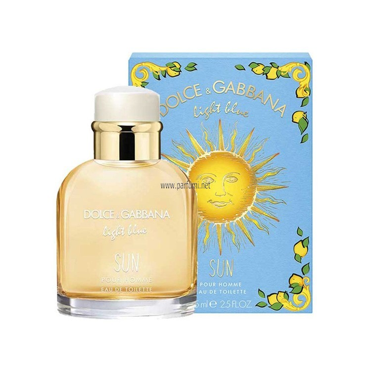 Dolce&Gabbana Light Blue SUN EDT за мъже - 100ml