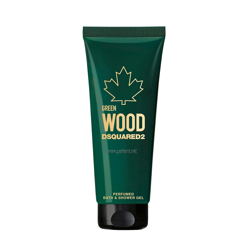 DSQUARED² Green Wood Pour Homme Душ гел за мъже - 250ml