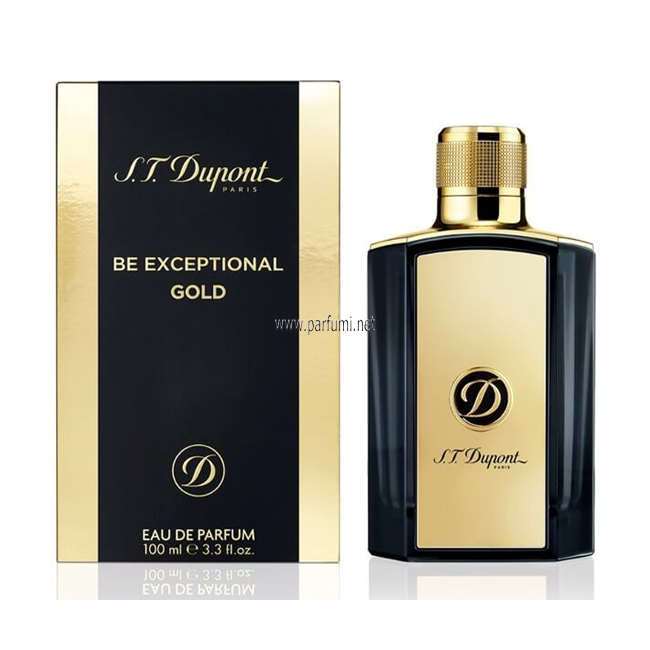 Dupont Be Exceptional Gold EDP parfum for men - 100ml