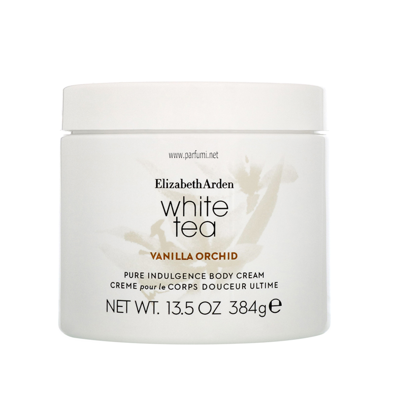 Elizabeth Arden White Tea Vanilla Orchid Body Cream for women - 384g