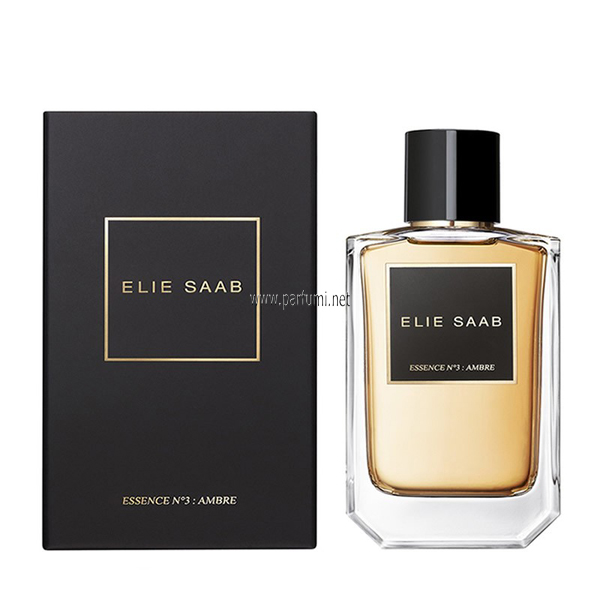 Elie Saab La collection No.3 Ambre Essence de Parfum унисекс парфюм - 100ml
