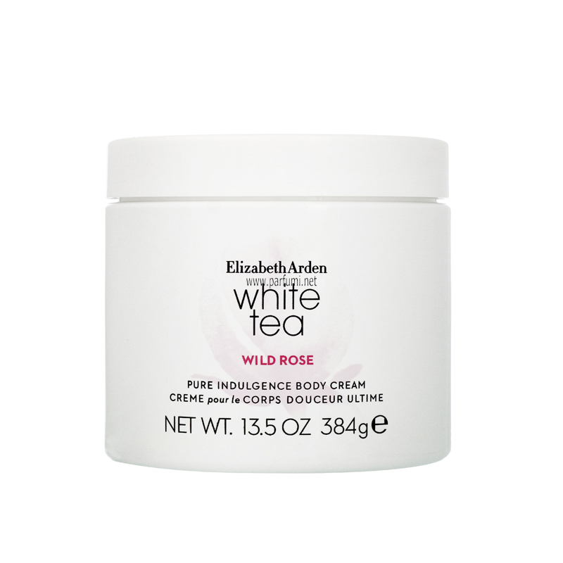 Elizabeth Arden White Tea Wild Rose Body Cream for women - 384g