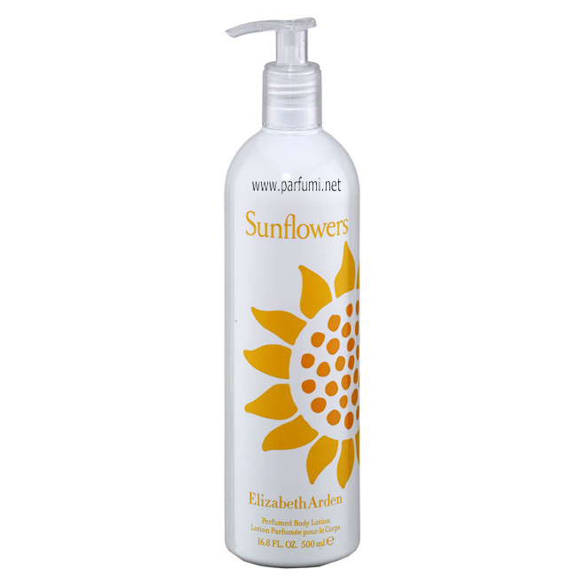 Elizabeth Arden Sunflowers Body Lotion for women - 500ml