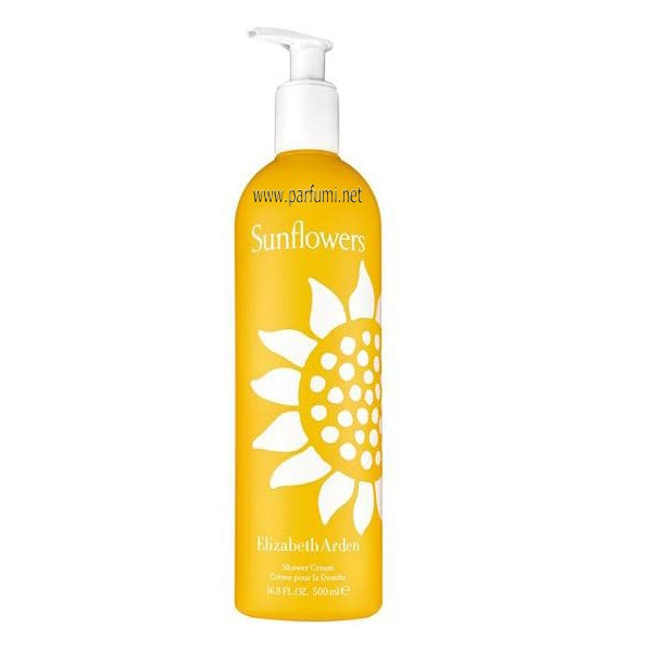 Elizabeth Arden Sunflowers Душ-гел за жени - 500ml.