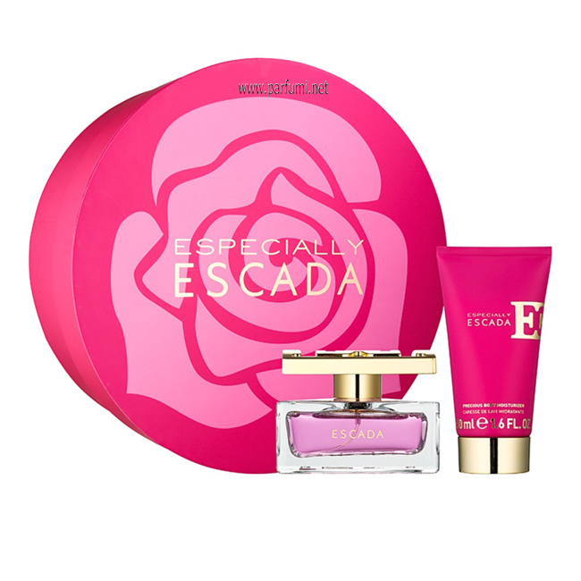 Escada Especially Set for women-50ml EDP +50ml BL
