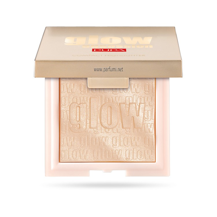 Pupa Glow Obsession compact Highlighter Light Gold 100
