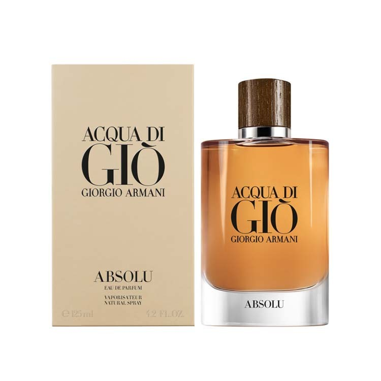 Giorgio Armani Acqua di Gio Absolu EDP perfume for men - 125ml