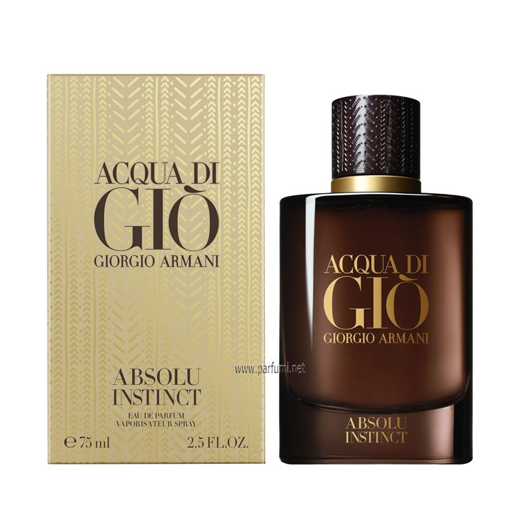 Giorgio Armani Acqua di Gio Absolu Instinct EDP perfume for men - 75ml