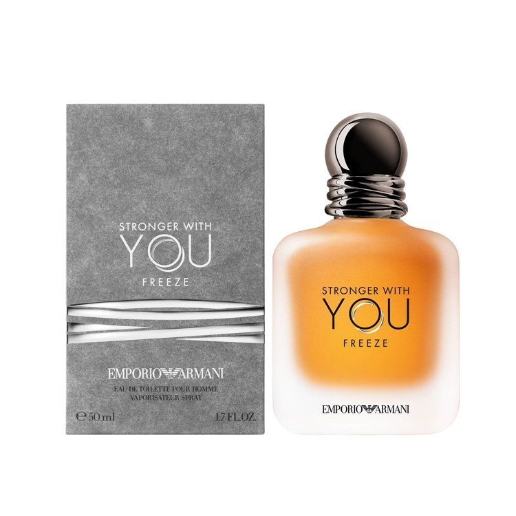 Emporio Armani Stronger With You Freeze EDT за мъже - 100ml