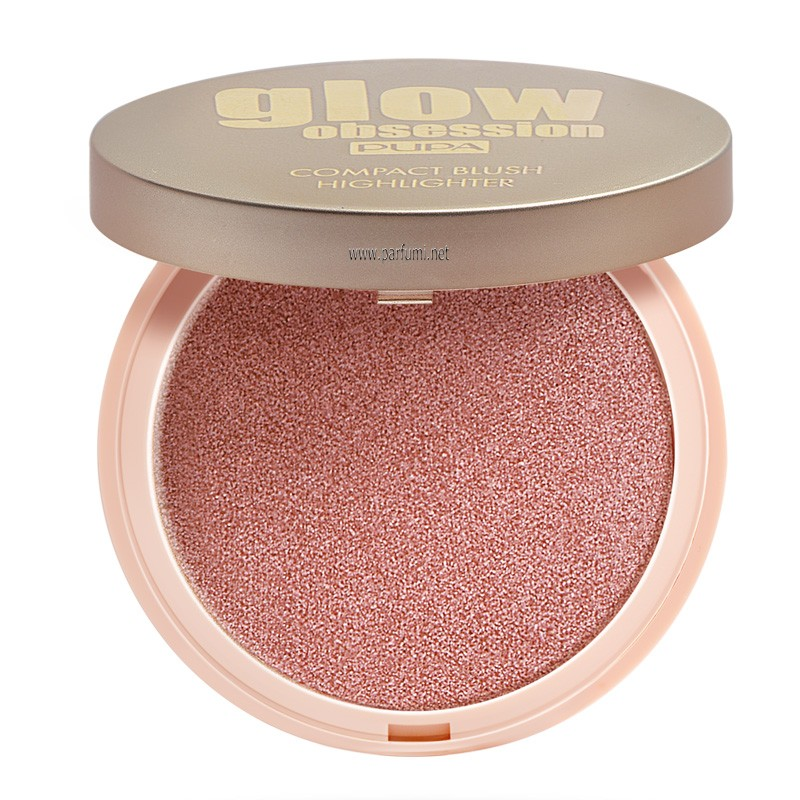 Pupa Glow Obsession Compact Blush Highlighter Blossom 050164A002