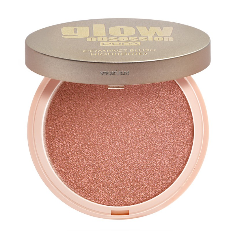 Pupa Glow Obsession Compact Blush Highlighter Sunset 050164A003