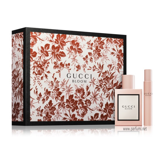 Gucci Bloom Комплект за жени  - 50ml EDP + 7.5ml EDP Roll