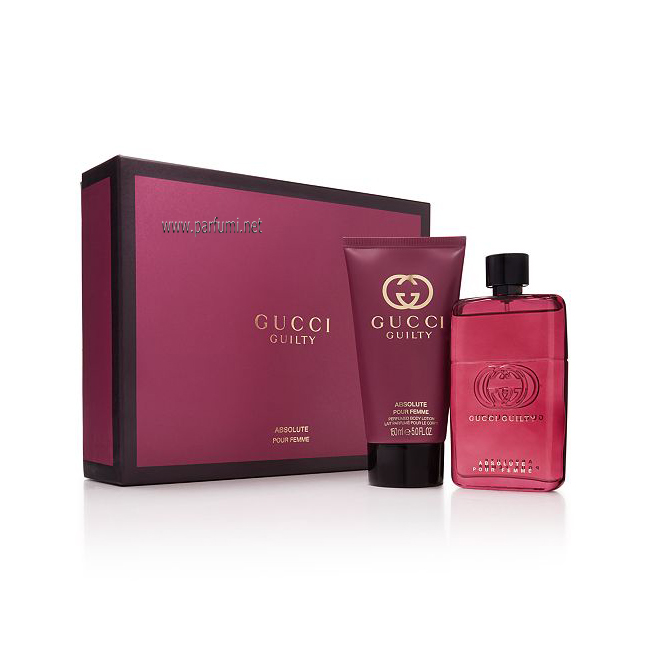 Gucci Guilty Absolute Femme Комплект за жени - 50ml EDP +50ml BL