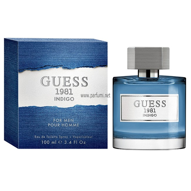 Guess 1981 Pour Homme Indigo EDT парфюм за мъже - 100ml