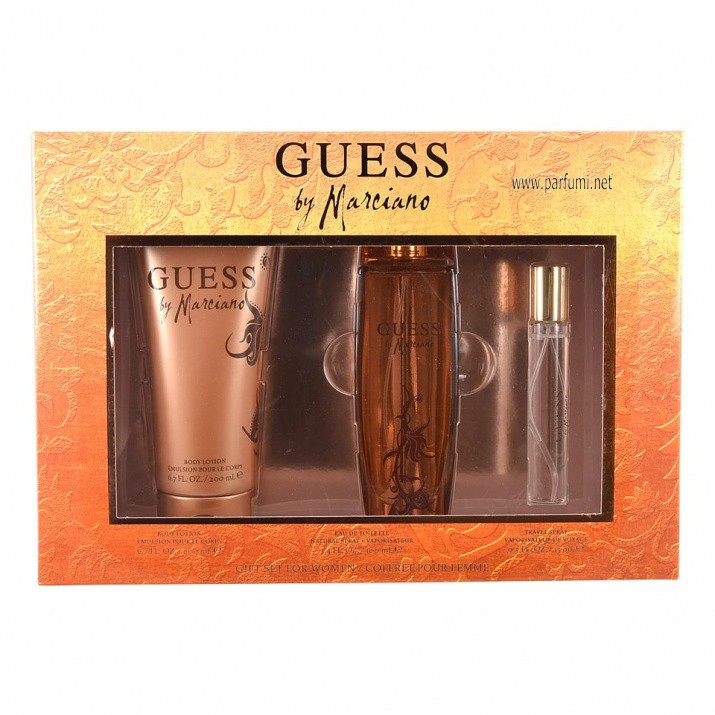 Guess By Marciano Комплект за жени - 100ml EDP+200ml BL+15ml EDP