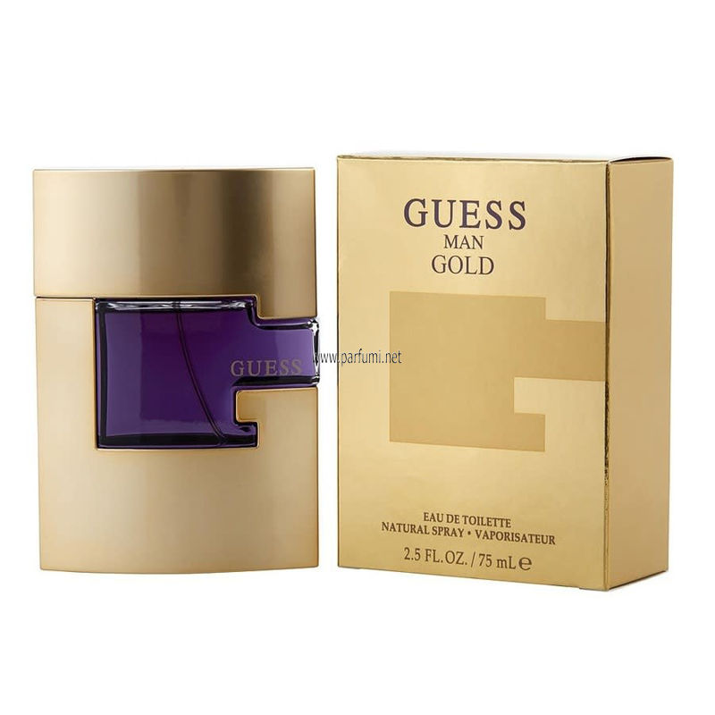 Guess Man Gold EDT for men - 75ml