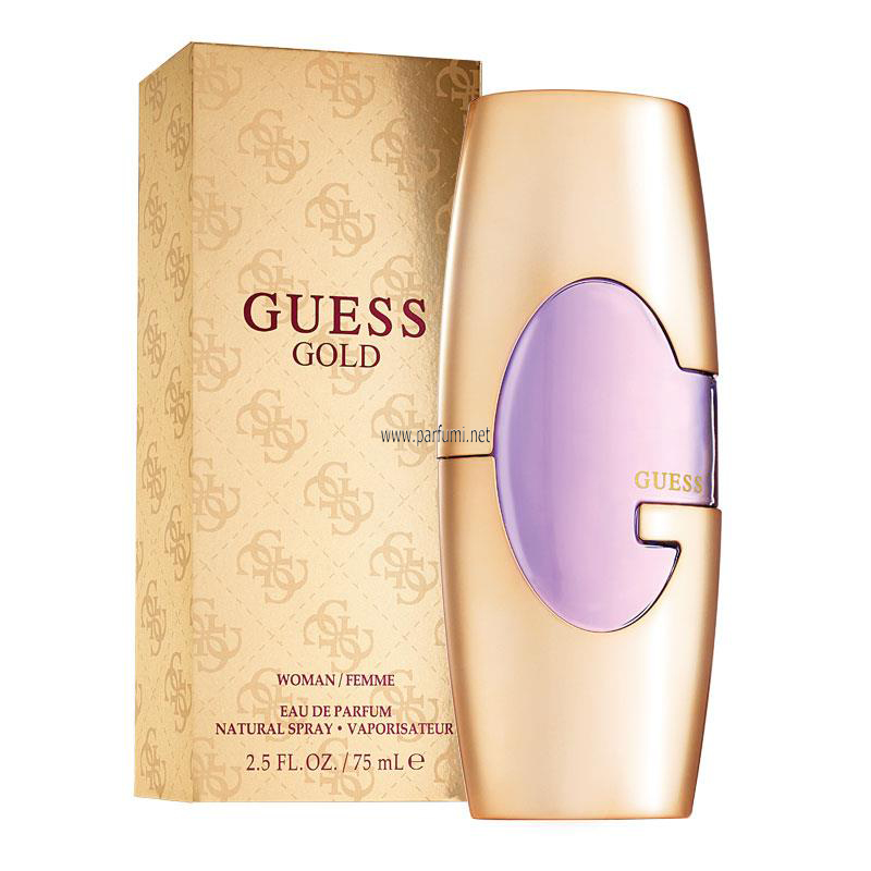 Guess Gold EDP perfume for women - 75ml.