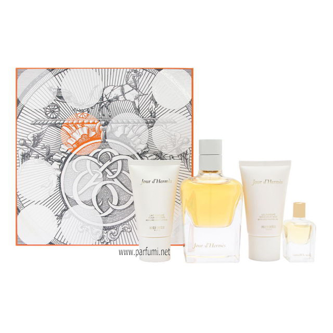 Hermes Jour dHermes Set for women 85ml EDP +30ml BL +30ml SG+7.5ml