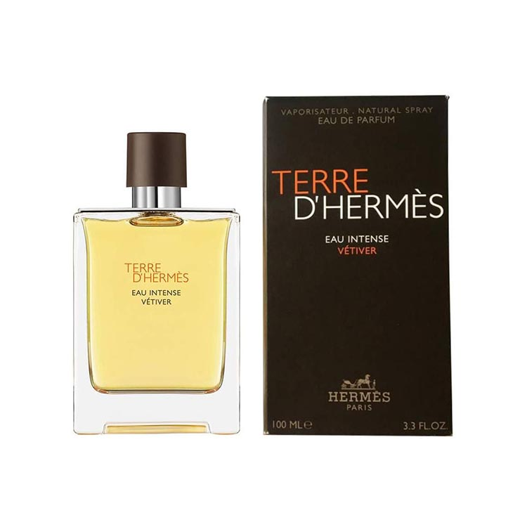 Hermes Terre d'Hermes Eau Intense Vetiver EDP parfum for men - 100ml