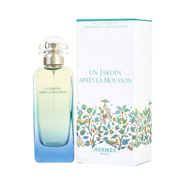 Hermes Un Jardin Apres la Mousson EDT parfum for women - 100ml.