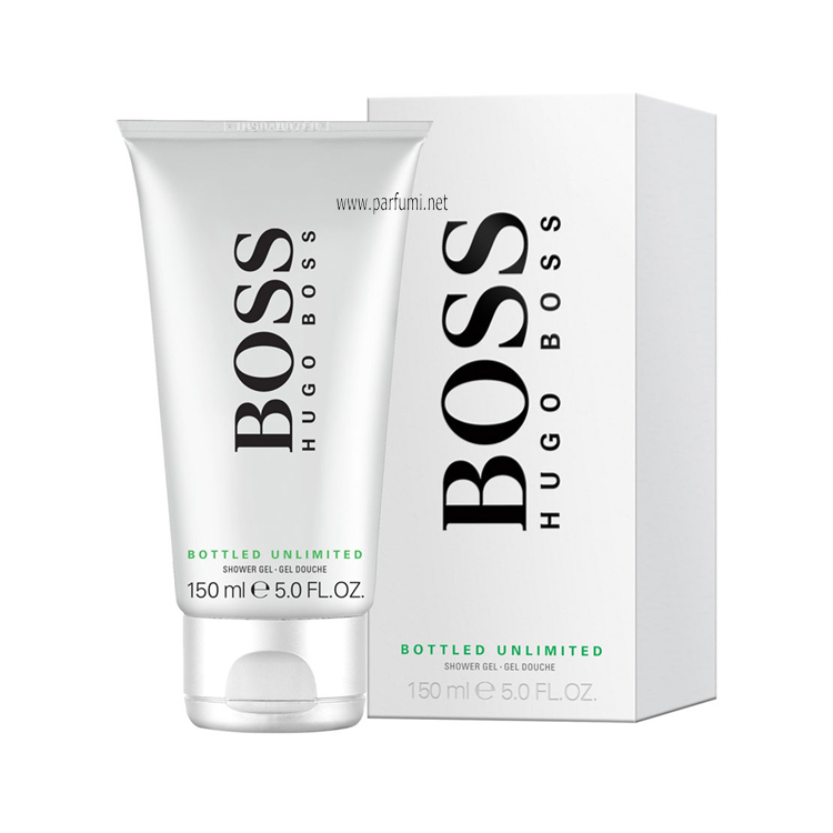 Hugo Boss Bottled Unlimited Душ гел за мъже - 150ml