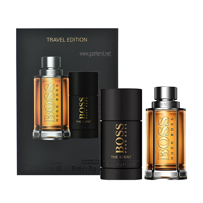 Hugo Boss The Scent Комплект за мъже -100ml EDT + Deo Stick