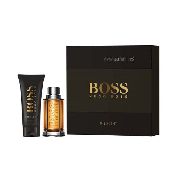 Hugo Boss The Scent Set for men -50ml EDT + 100ml Shower