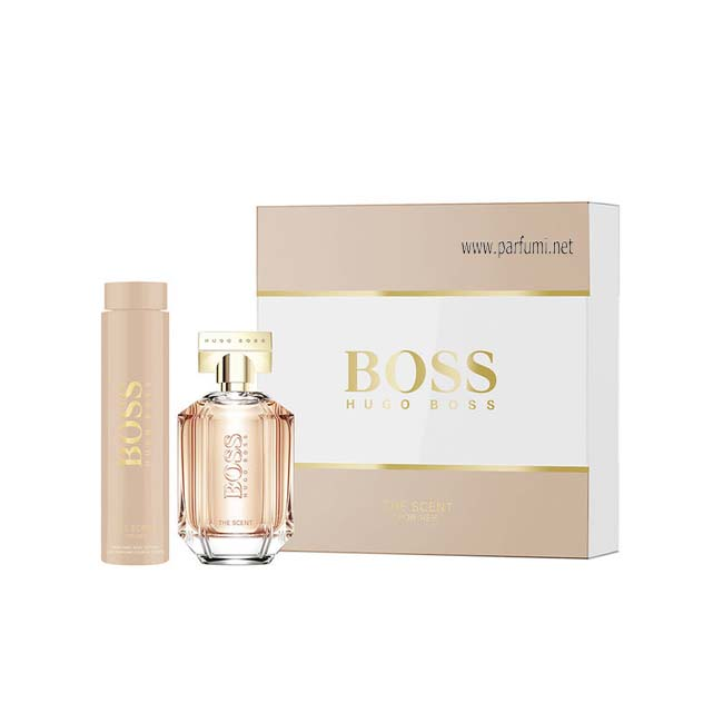 Hugo Boss The Scent Set for women- 100ml EDP+200ml BL
