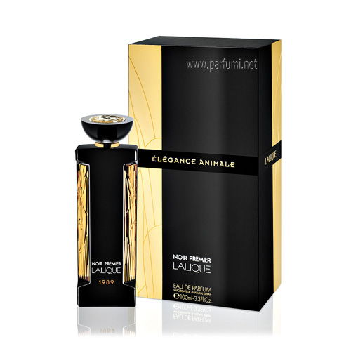 Lalique Noir Premier Elegance Animale EDP Unisex- 100ml
