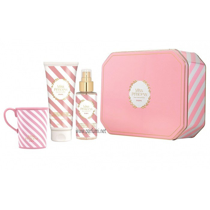 Pupa Miss Princess Large Set Tin Box Захарни бонбони