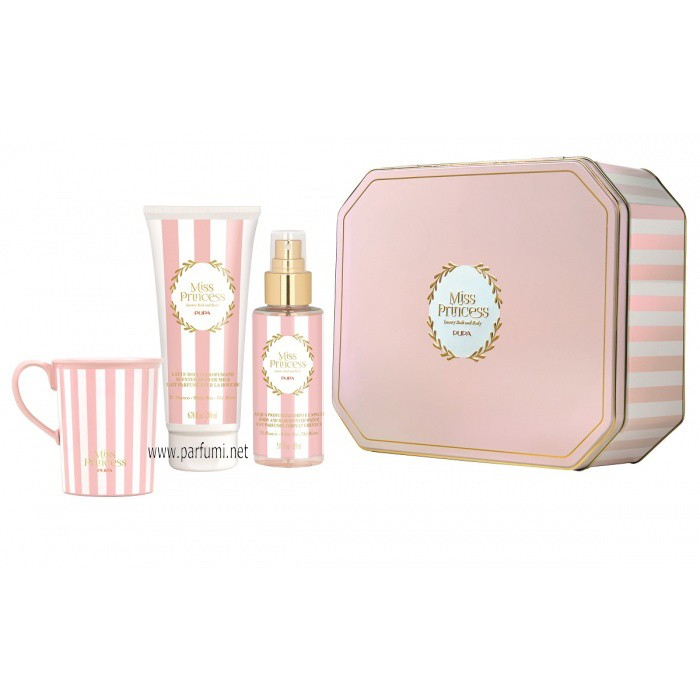 Pupa Miss Princess Large Set Tin Box Бял чай