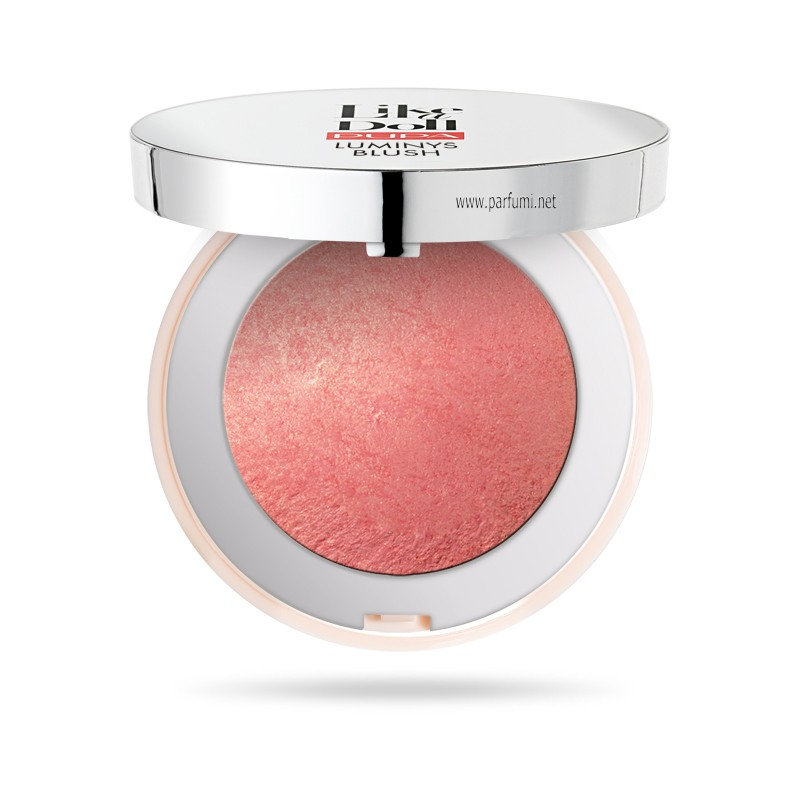 Pupa LIKE A DOLL LUMINYS BLUSH 050093A Vibrant Coral 302