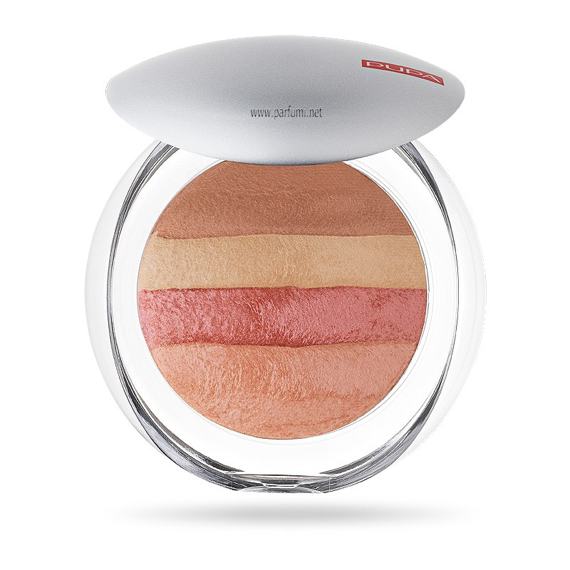 Pupa Luminys Baked All Over blush Powder Coral Stripes 00523 06