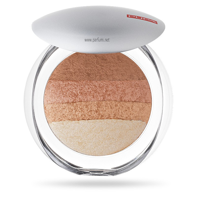 Pupa Luminys Baked All Over blush Powder Gold Stripes 00523 05