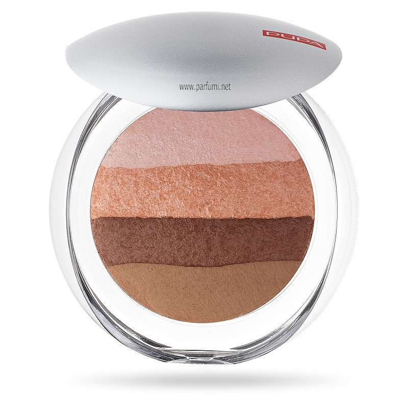 Pupa Luminys Baked All Over blush Powder Stripes Natural 00523 02