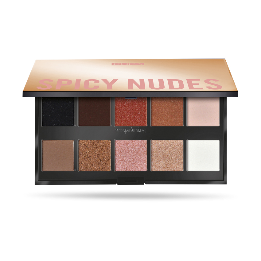 Pupa Make Up Stories Palette Eyeshadow Spicy Nude 001