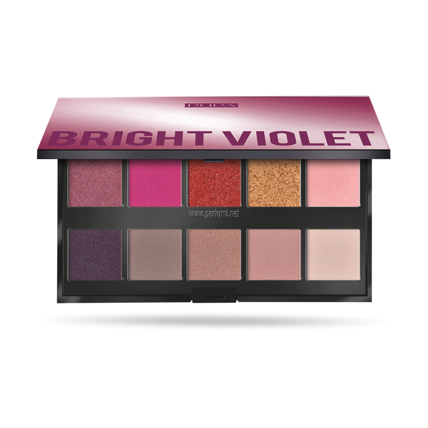 Pupa Make Up Stories Palette Eyeshadow Bright Violet 003