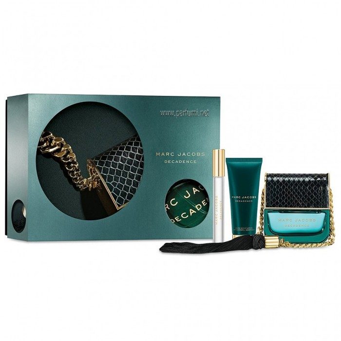 Marc Jacobs Decadence Комплект за жени-100ml EDP+75ml BL+10ml EDP