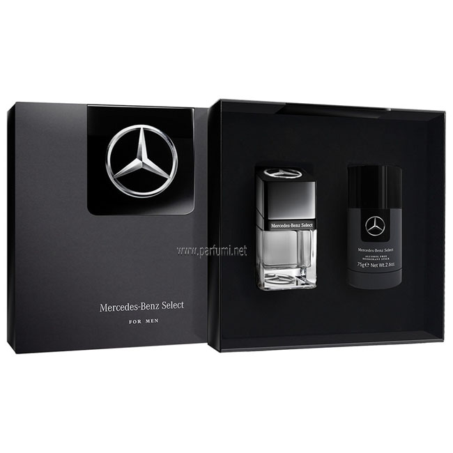 Mercedes-Benz Select Set for men - 50ml EDT+ 75ml Deo stick