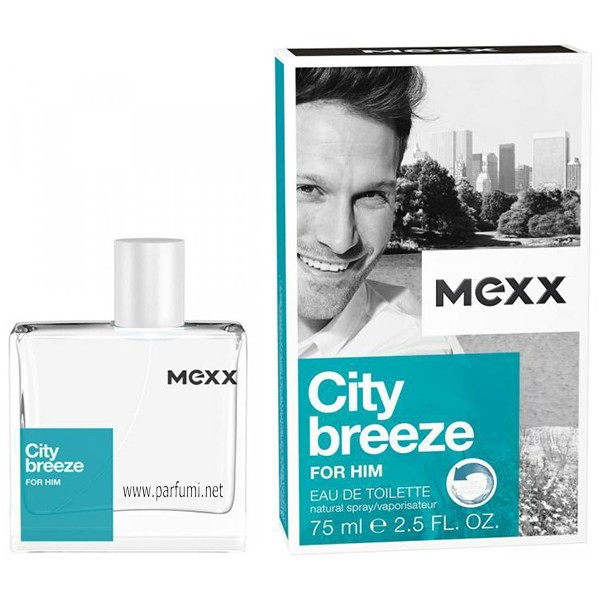 Mexx City Breeze For Him EDT parfum for men - 75ml