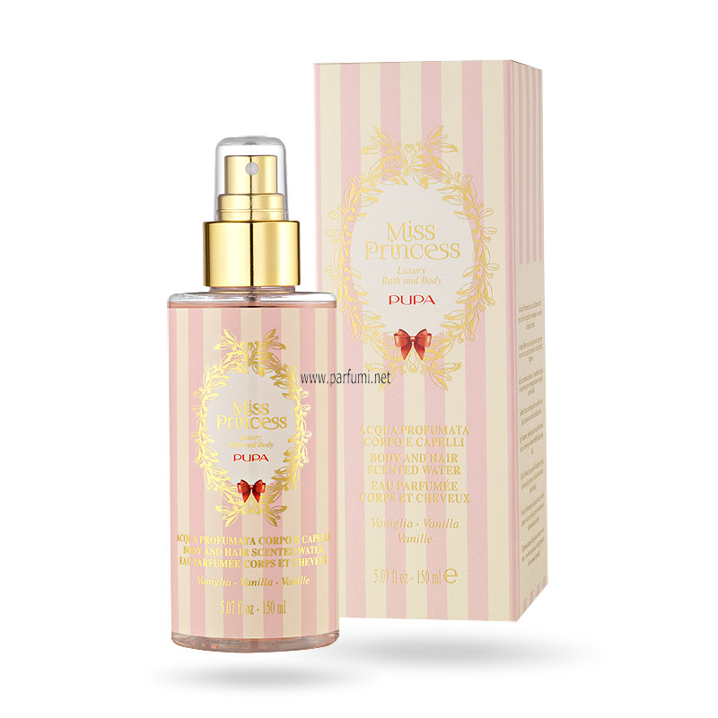 Pupa Miss Princess Scented Water Vanilla - 150ml