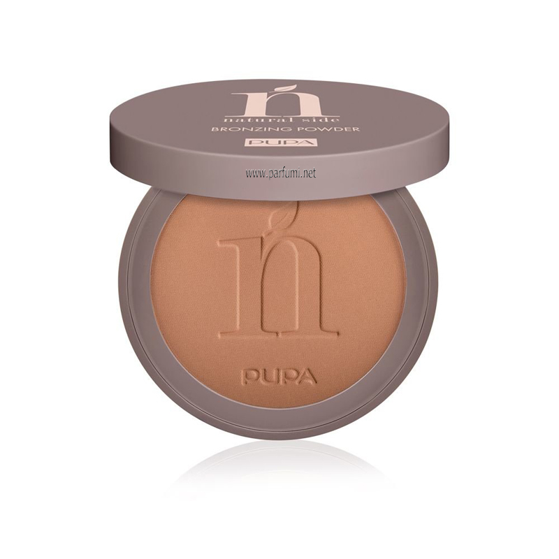 Pupa Natural Side Bronzing Compact Powder Intense Bronze 003