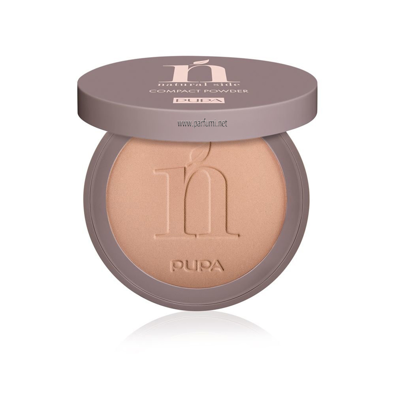 Pupa Natural Side Compact Mattifying Powder Warm Beige 003