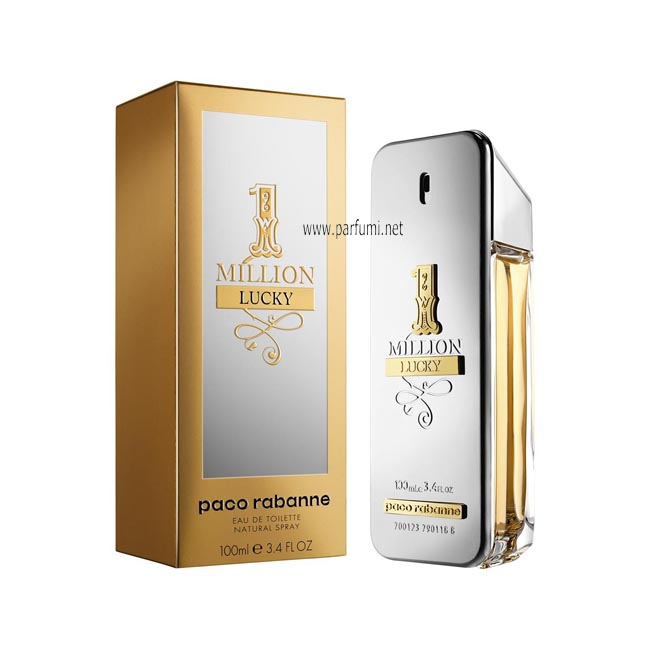Paco Rabanne 1 Million Lucky EDT за мъже - 100ml.