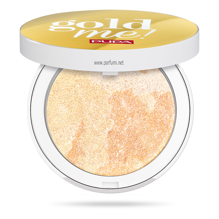 Pupa Gold Me Trio Frost Highlighter 001 Gold Fusion