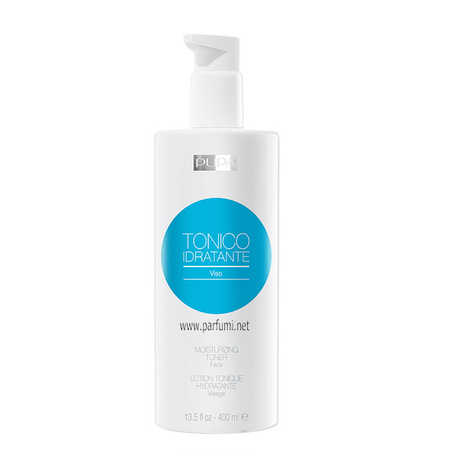 Pupa moisturizing Toner for face - 400ml