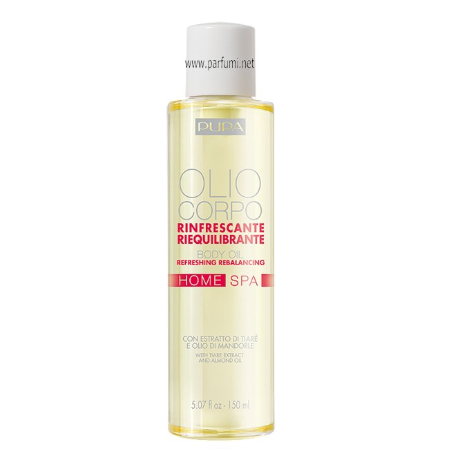 Pupa Refreshing Rebalancing Body Oil Tiarè Extract-150ml