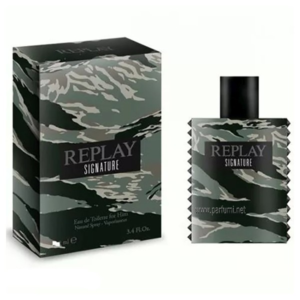 Replay Signature For Men EDT парфюм за мъже - 100ml